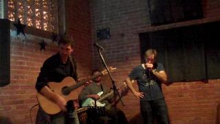 Richard Hunter with the Brian Maw Band at the Bridge, Pocatello, ID, Nov 17 2012