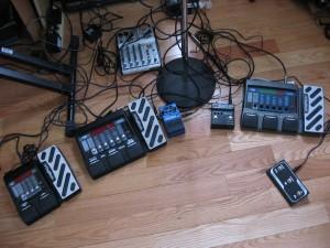 Pedals, pedals, pedals, wires, wires, wires!