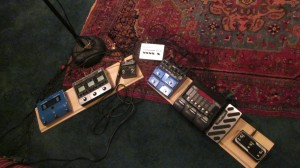 Pedals and boards--must be a pedalboard!