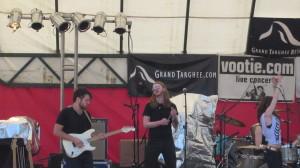 Jackson Kincheloe rockin' at Targheefest, July 21 2013