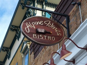Alpine Wines in Driggs ID--wine and song at the very least