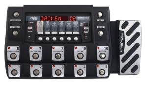 The Digitech RP1000: top of the line if you want the external amp and FX loops