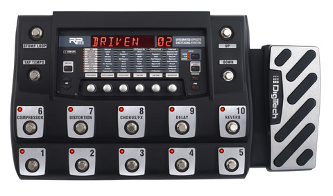 The Digitech RP1000: You can load it with our patches starting now