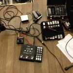 RP360XP setup during soundcheck in Milan with Lowlands