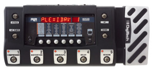 "Digitech RP500: It's all over ""The Lucky One"""