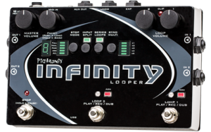 Pigtronix Infinity Looper:  more bucks for more power